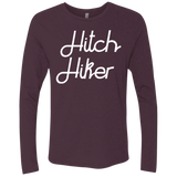 Hitchhiker Men's Long Sleeve Travel T-Shirt - The Art Of Travel Store: Travel Accessories, Travel Clothes, Travel Gear