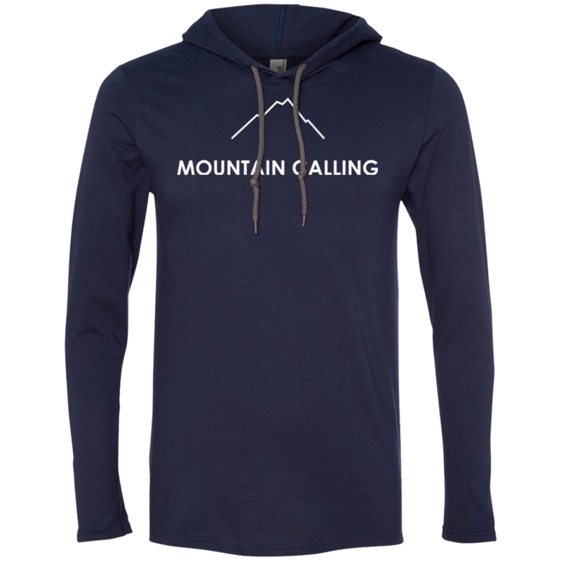 Mountain Calling Men's Travel T-Shirt Hoodie - The Art Of Travel Store: Travel Accessories and Travel T-Shirts