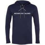 Mountain Calling Men's Travel T-Shirt Hoodie - The Art Of Travel Store: Travel Accessories, Travel Clothes, Travel Gear