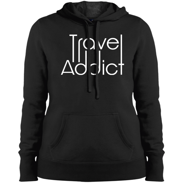 Travel Addict Pullover Hooded Sweatshirt - The Art Of Travel Store: Travel Accessories, Travel Clothes, Travel T-Shirts