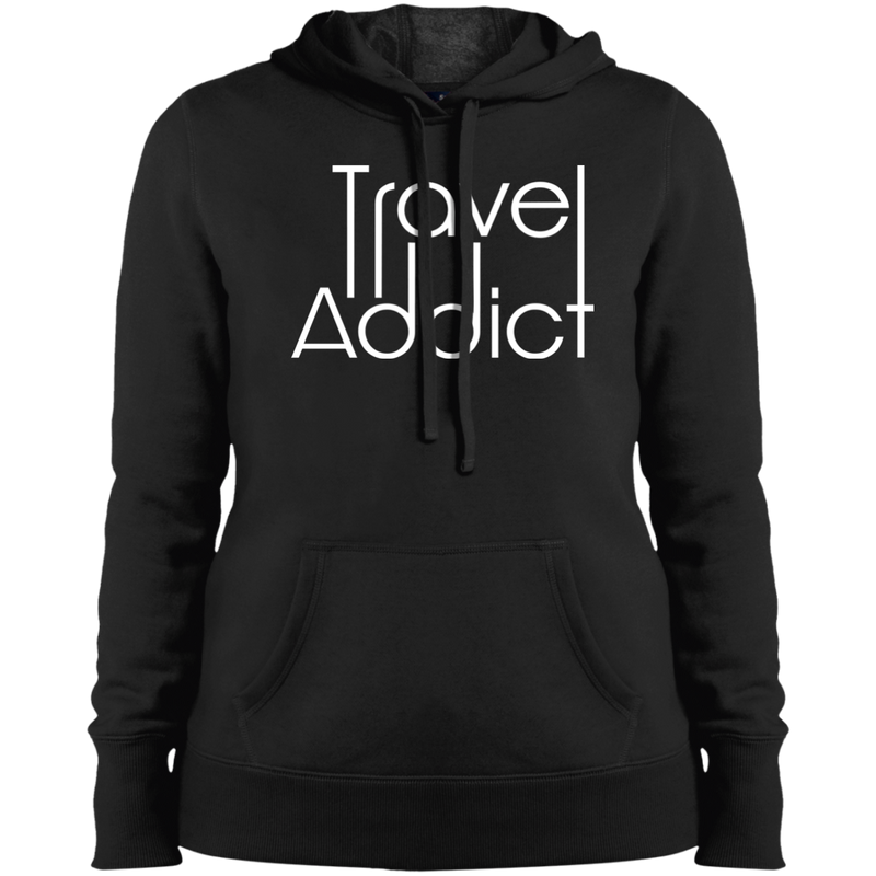 Travel Addict Pullover Hooded Sweatshirt - The Art Of Travel Store: Travel Accessories and Travel T-Shirts