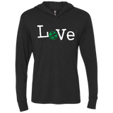 Love World Travel Long Sleeve Hooded T-Shirt Hoodie - The Art Of Travel Store: Travel Accessories, Travel Clothes, Travel Gear