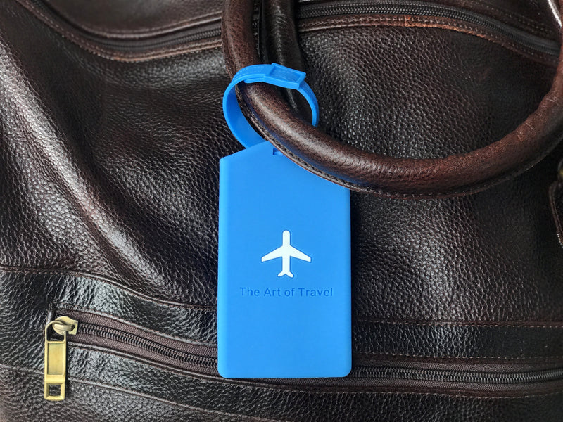 Luggage Tag & Bag Tag (Pack of 2) - The Art Of Travel Store: Travel Accessories and Travel T-Shirts