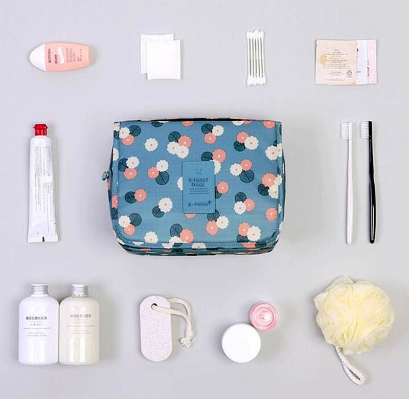 Makeup Organizer & Travel Toiletry Bag - The Art Of Travel Store: Travel Accessories and Travel T-Shirts