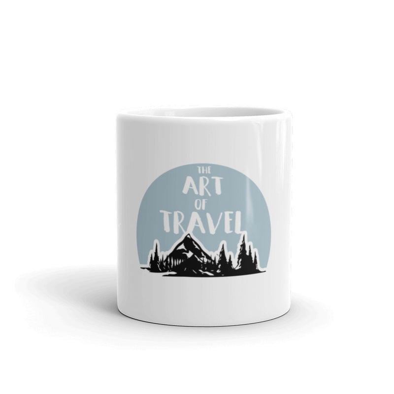 The Art of Travel Coffee Tea Mug - The Art Of Travel Store: Travel Accessories and Travel T-Shirts