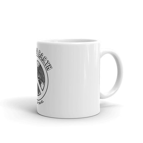 Peace on Earth Coffee Tea Mug - The Art Of Travel Store: Travel Accessories, Travel Clothes, Travel Gear