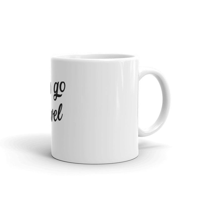 Let's Go Travel Coffee Tea Mug - The Art Of Travel Store: Travel Accessories and Travel T-Shirts