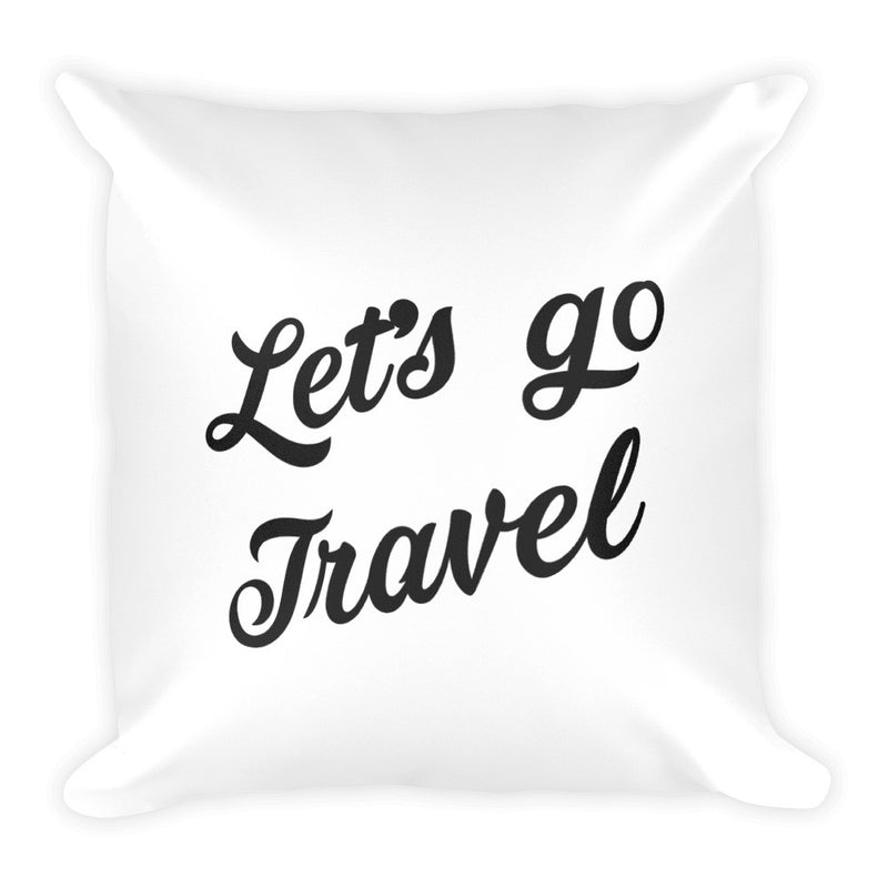 Collect Memories Not Things Travel Pillow - The Art Of Travel Store: Travel Accessories and Travel T-Shirts