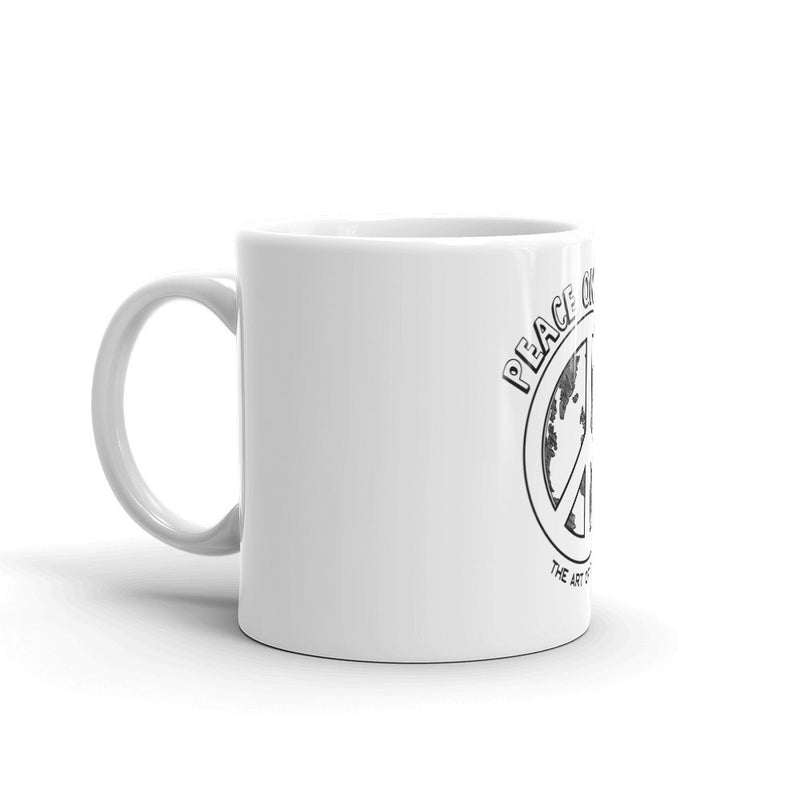 Peace on Earth Coffee Tea Mug - The Art Of Travel Store: Travel Accessories and Travel T-Shirts