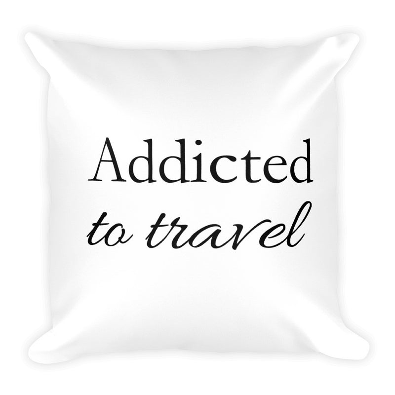 Travel Ninja Addicted to Travel Pillow - The Art Of Travel