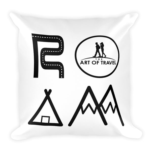 ROAM World Living A Dream Travel Pillow - The Art Of Travel