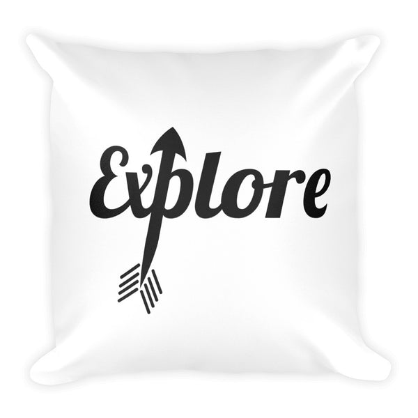 Travel Vibes Explore the World Pillow - The Art Of Travel
