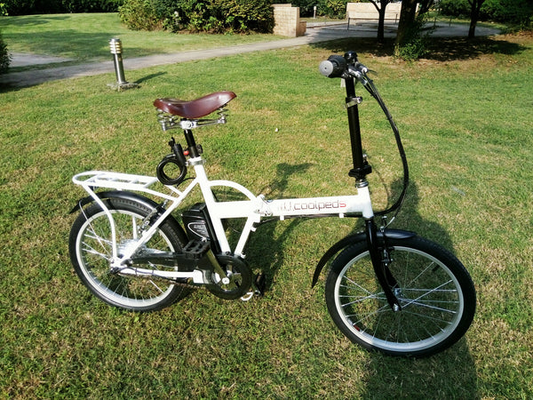 Coolpeds USA Vintage foldable electric bike only $549 usd! FREE SHIPPING NOW!