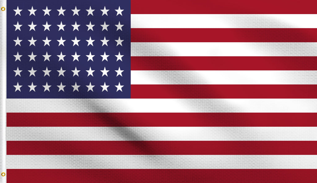Economy 3'X5' 48 Star American Old Glory Usa Polyester Flag
