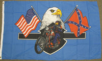 3'X5' Rebel High Way Hero Polyester Flag