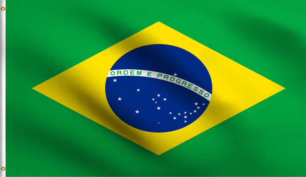 3x5 Brazil Brazillian Country Polyester Flag