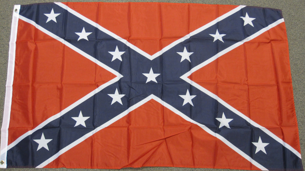 3'X5' Confederate Polyester Flag Rebel