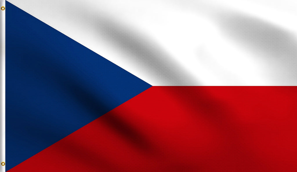 3x5 Czech Republic Czechoslovakian Polyester Flag