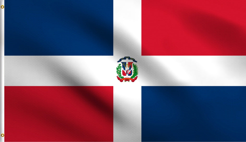 Economy 3X5 Dominican Republic Polyester Flag