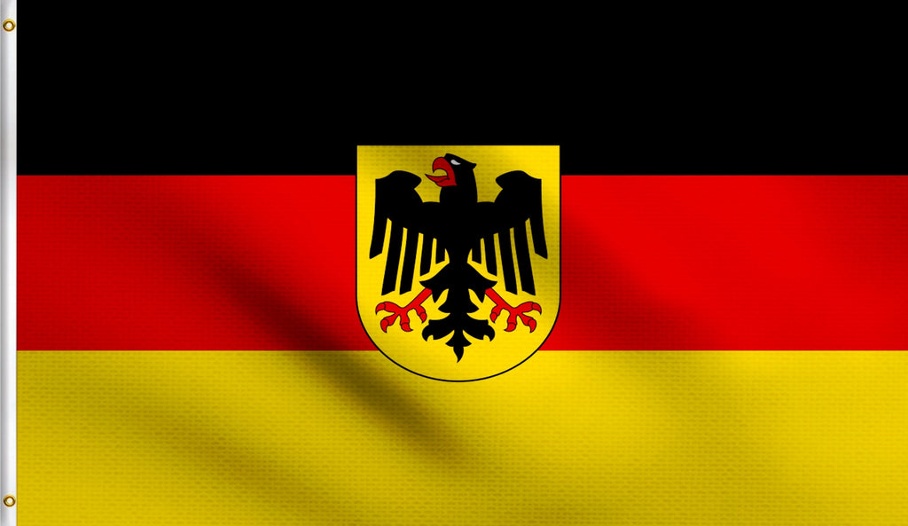 3x5 Old Germany German With Eagle Polyester Flag