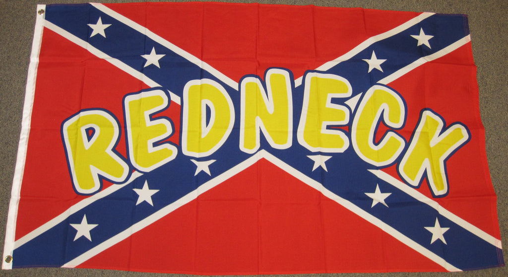 3'X5' Rebel Redneck Polyester Flag Confederate