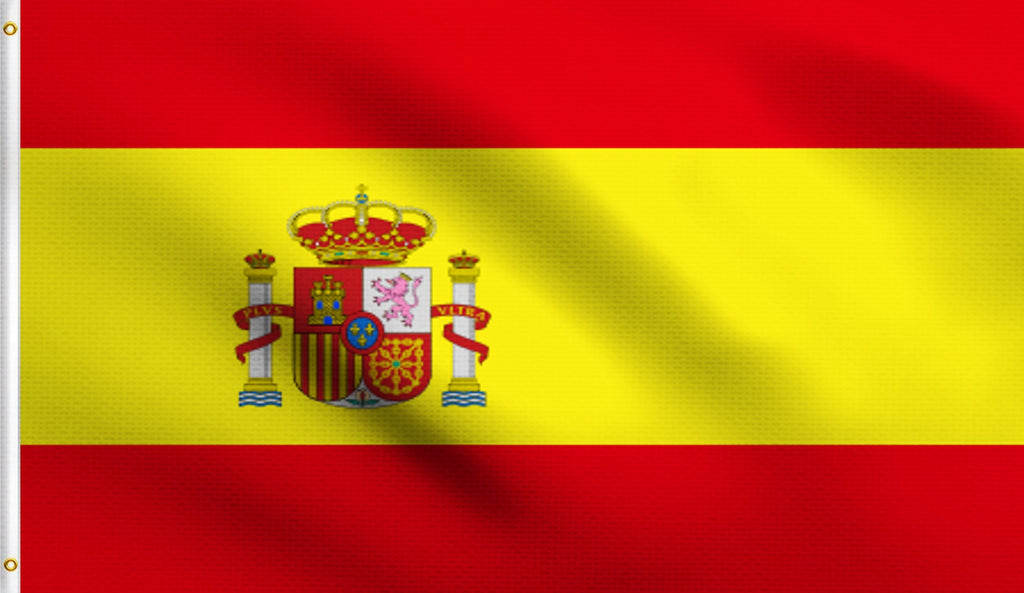3x5 Spain Spanish Polyester Flag