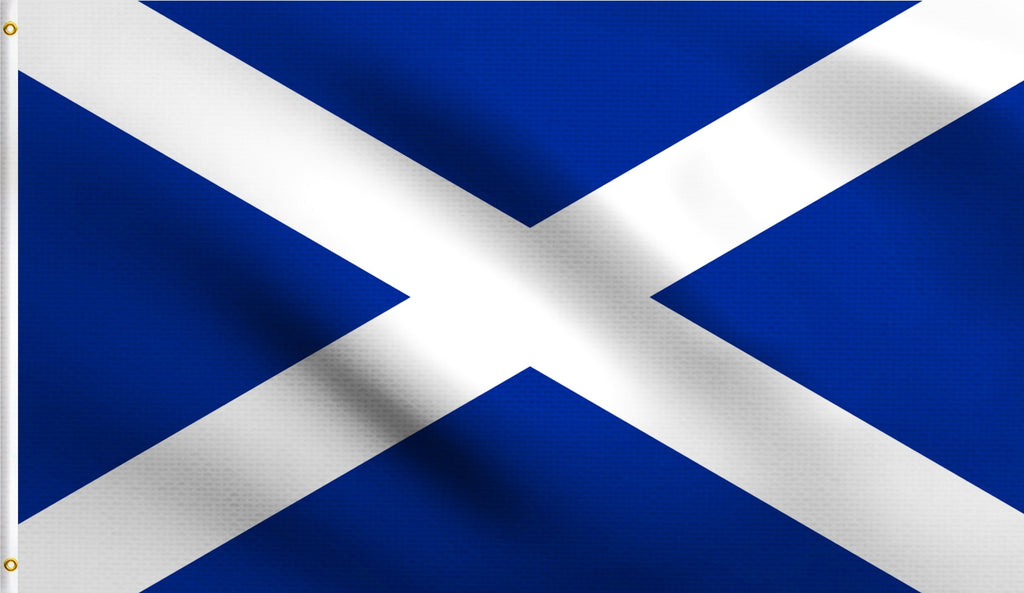 3x5 Scotland Cross Of St Andrew Polyester Flag