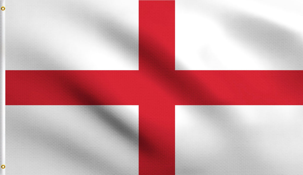3x5 England Cross Of St George Polyester Flag