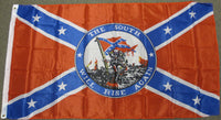 3'X5' South Will Rise Polyester Flag Confederate Rebel