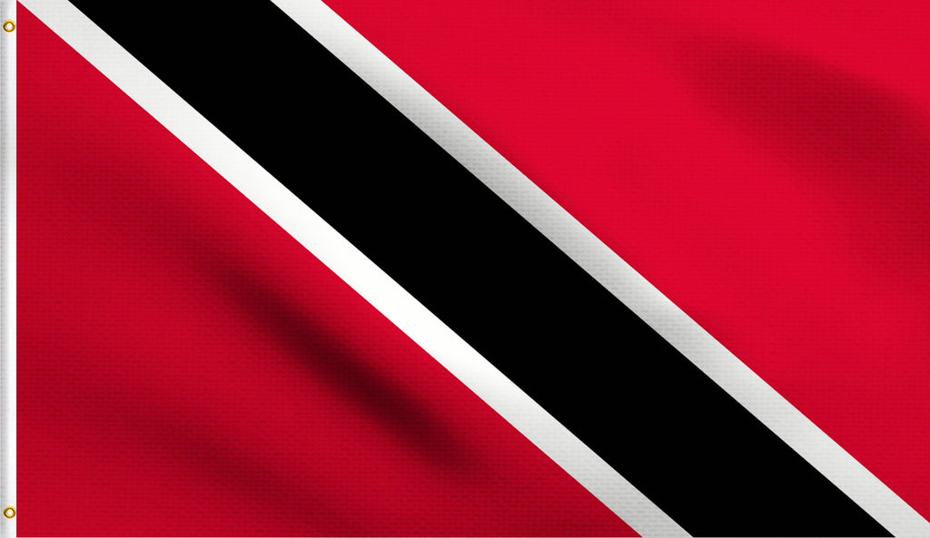 2'X3' Trinidad And Tobago Polyester Flag Trinidadian Tobagonian