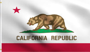 3x5 California State Ca Polyester Flag