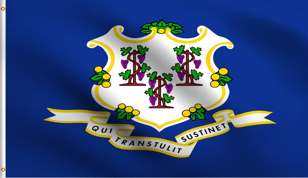 3x5 Connecticut State Ct Polyester Flag