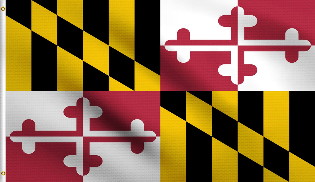 3x5Maryland State Md Polyester Flag