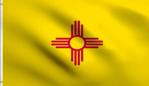 3x5 New Mexico State Nm Polyester Flag