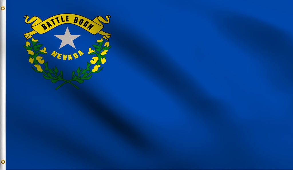 3x5 Nevada State Nv Polyester Flag