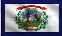 3x5 West Virginia Wv Polyester Flag