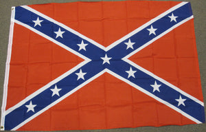 4'X6' Confederate Polyester Flag Rebel