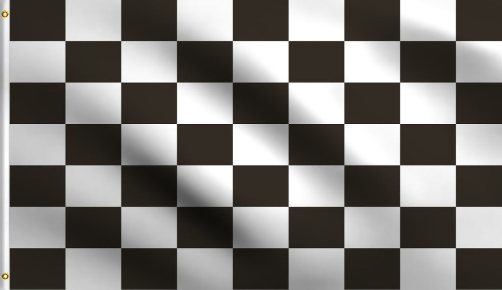 2x3 Checkered Polyester Flag Racing Finish Line