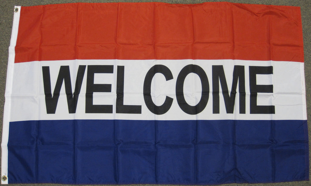 3'X5' Welcome Polyester Flag