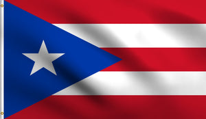 2x3 Puerto Rico Polyester Flag Rican