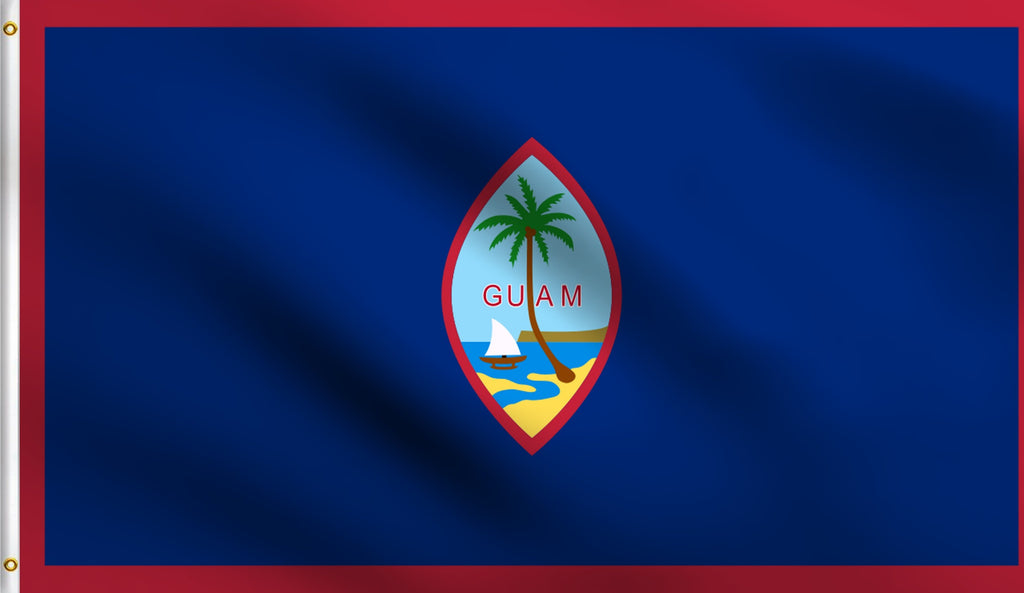 3x5 Guam Polyester Flag American Territory