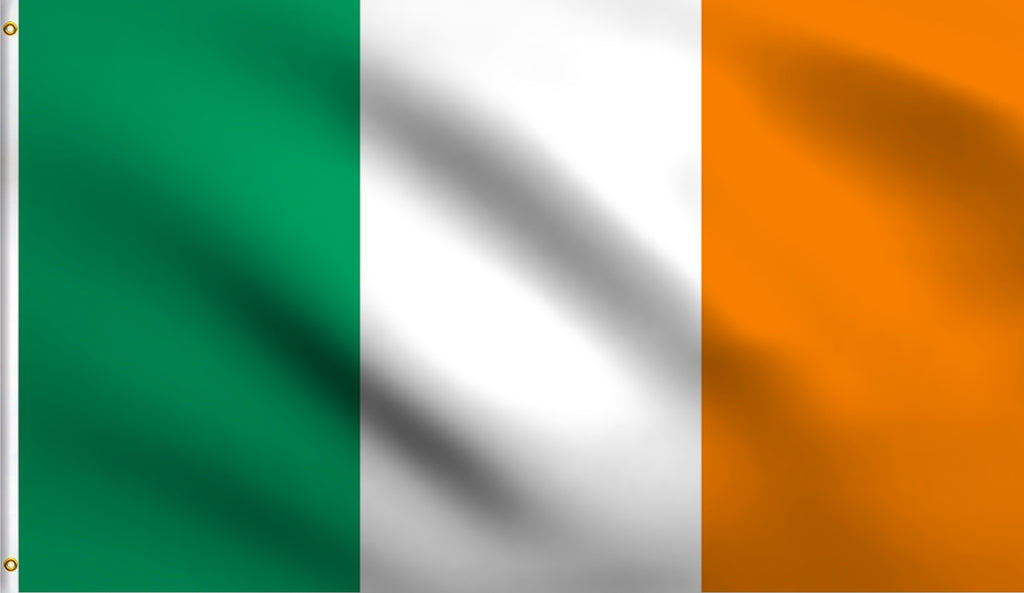 3x5 Ireland Polyester Flag Irish