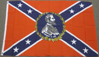 3'X5' Confederate Lee Polyester Flag Rebel