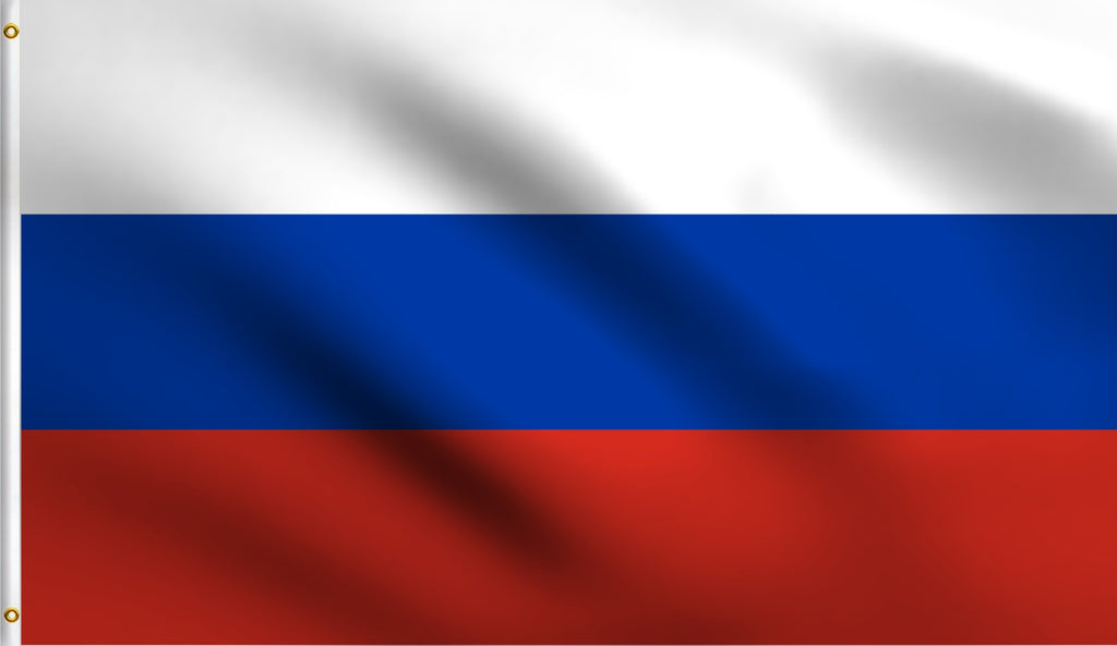 2x3 Russia Polyester Flag Russian