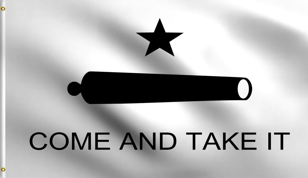 Economy 3'X5' Come And Take It Polyester Flag