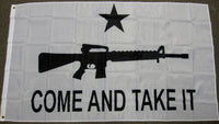 3'X5' Come And Take It Assault Rifle Polyester Flag Gun Control Texas