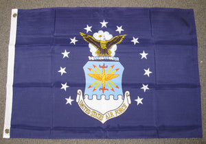 2'X3' U.S. Air Force Polyester Flag USAF