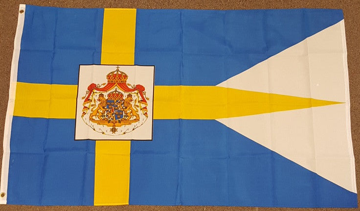 3'X5' Swedish Royal Standard Polyester Flag Sweden