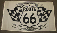 3'X5' Get Your Kicks On Route 66 Polyester Flag