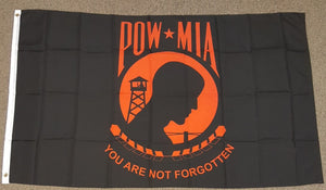 3'X5' Red Pow Mia Polyester Flag Prisoner Of War